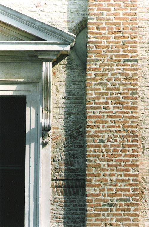 Esterno - particolare facciata